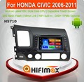 Hifimax Android 6.0 car dvd audio navigation system FOR HONDA CIVIC 2006-2011WITH OCTA CORE 1080P WIFI 3G 4G OBD DVR TPMS DAB+
