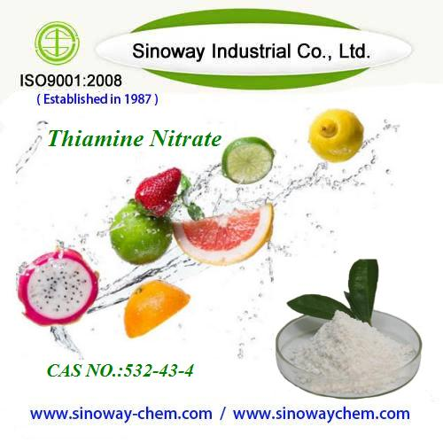 Thiamine nitrate with cas no.532-43-4