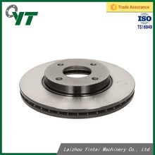 Spare car parts for Ford Fiesta Focus Fusion KA Puma Mazda 121 III disc brake rotor 4077455 wholesale car brake system