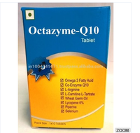 Co-Enzyme Q10,Omega 3 Fatty Acid (Flaxseed Powder), L-Arginine,L-Carnitine L-Tartrate,Wheat Germ O Tablet