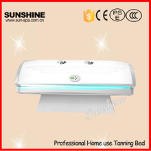 Top selling Sunshine 2400W home use canopy solarium tanning beds