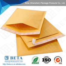 2017 New Products Goldren Kraft Bubble Envelope For Express Company