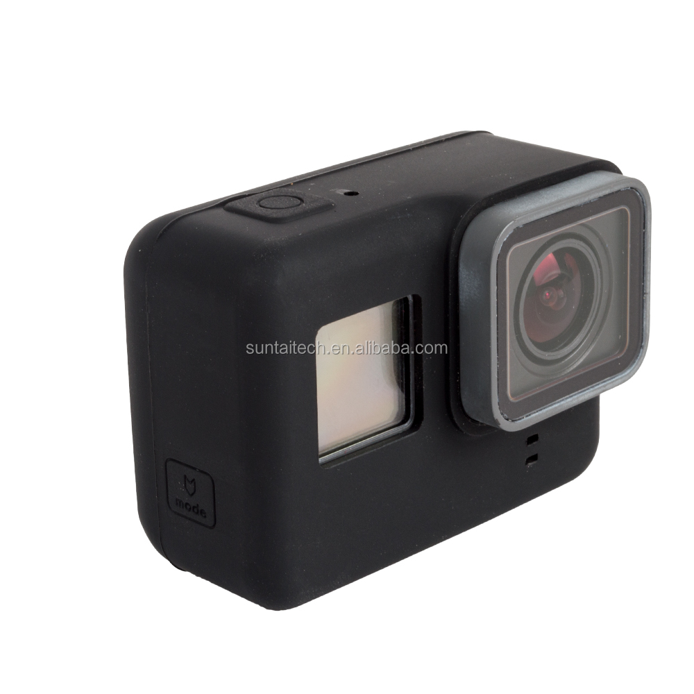 2017 Factory New product Silicone Case for GoPro Hero 5, gopros accessories GP400