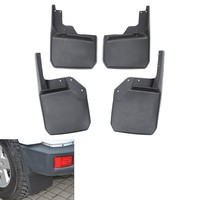 4pcs Mud Flaps Splash Guards Cover Fender Front + Rear Mudguard Accessories For Wrangler Unlimited 2007-2015 Car Styling