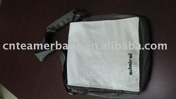 Hot selling canvas school shoulder bag pattern school bag