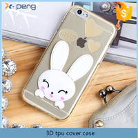 Top quality factory price custom design cell phone 3D cover case for sony xperia t lt30p