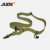 Adjustable Tactical Gun Rifle Sling One Single Point Bungee Rifle Gun Sling Strap with Metal Hook Safety Belt Rope 3Color