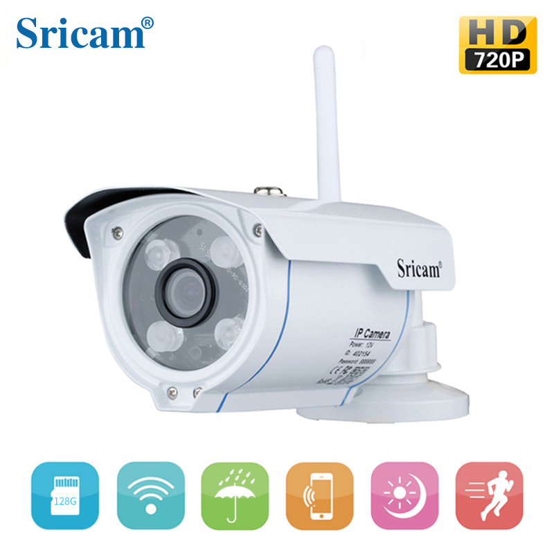 Sricam SP007 Low Price Housing Security IR Day Night Vision P2P Wireless Waterproof Wifi Outdoor IP Camera CCTV Camera