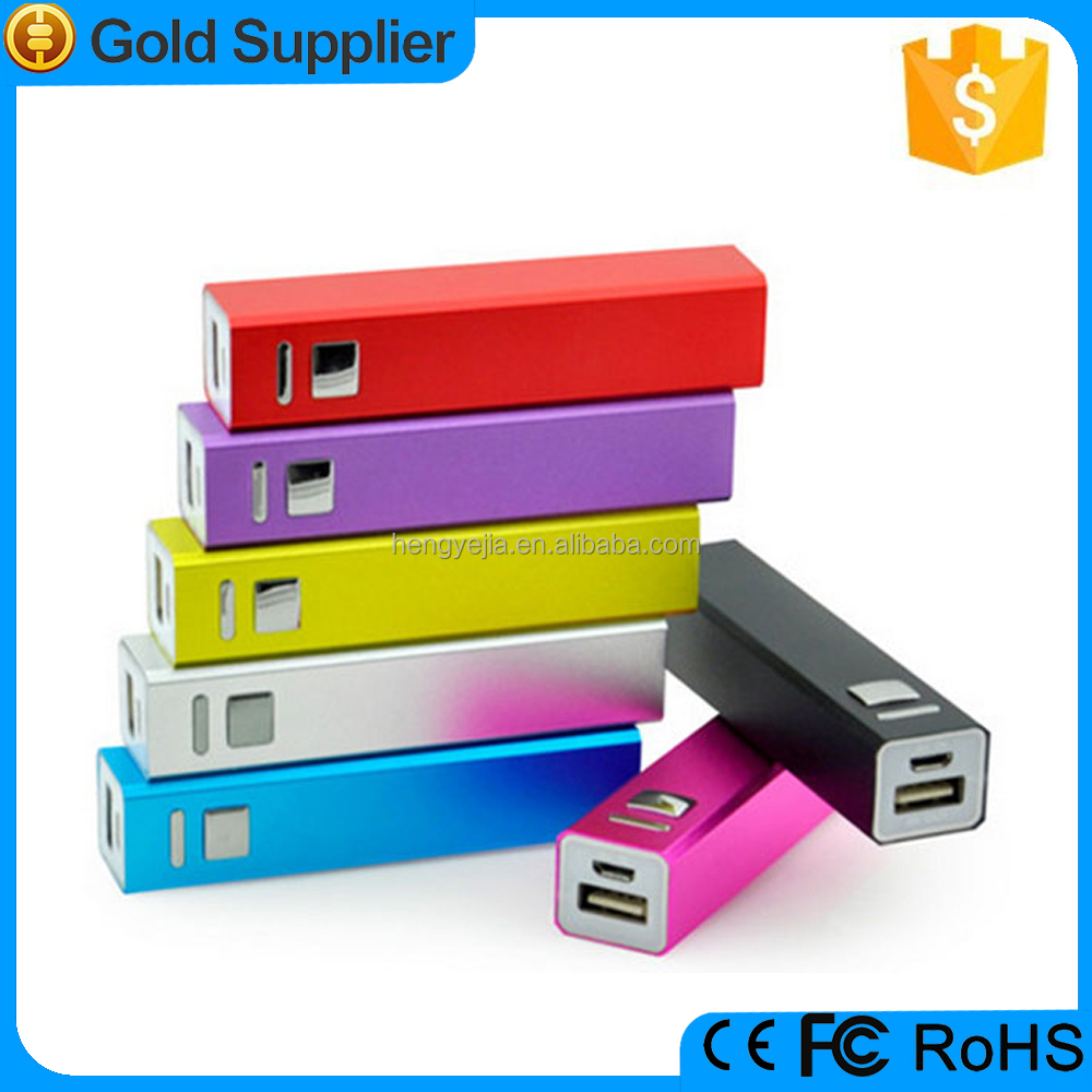new promotional items 2015 mini gifts 2000mah bulk power bank supply