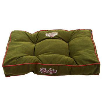 100% Cotton Winter Army Green Pad fabric dog bed