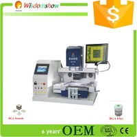 automatic BGA rework station price WDS-660 infrared bga chips reballing machine for bga laptop motherboard repair