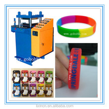 silicone rubber bands Shaping Machine use for making silicone bracelet/phone cover