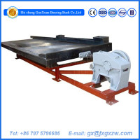 2015 machine Glass Fibre 6S Shaking Table For for gold mining plant