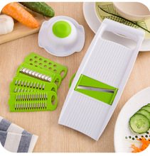 Amazon hot products 7 in 1 kitchen multifunction durable vegetable slicer grater factory price