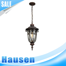 Wholesale factory price aluminum iron vintage pendant light