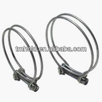 parallel double ground wire cable clamps