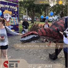 CET-H1159 Funny dinosaur king costume T-Rex costume animated dinosaur cosplay game adult realistic