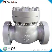 ASTM A216 WCB check valve to oil industry high pressure check valve