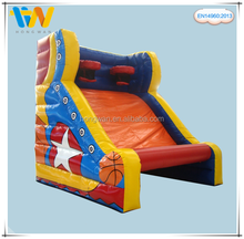 China dealer inflatable sport games, inflatable giant basketball shooting sports, giant inflatable outdoor team games