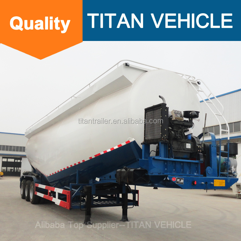 TITAN used bulk cement tanker truck , used bulk cement trailers , used cement trailers for sale -- FOB 10000