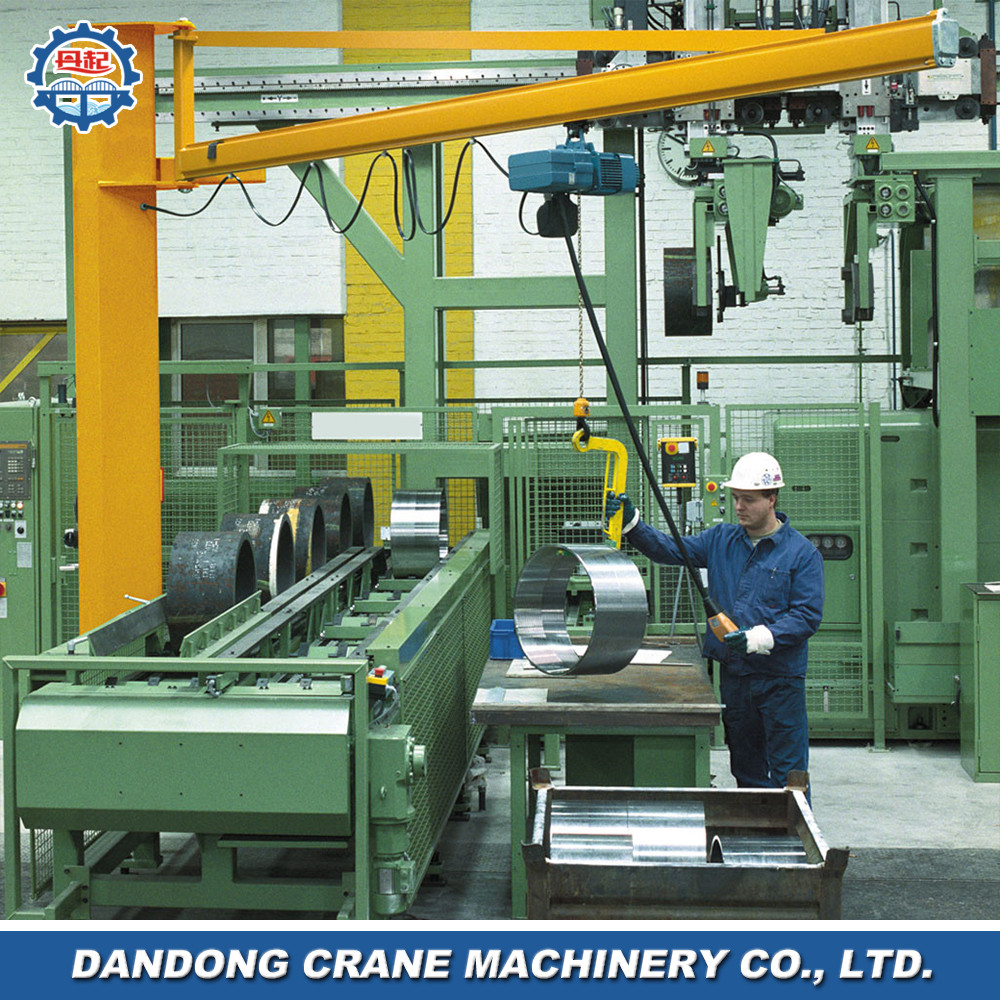 reliability 360 degree rotation random operating small tonnage marine lifting crane for sale
