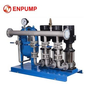 2017 hot new products variable frequency constant pressure pump water supply system