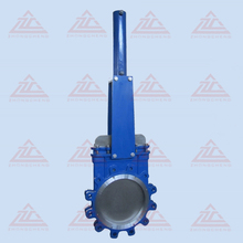 knife gate valve operated hydraulic actuator