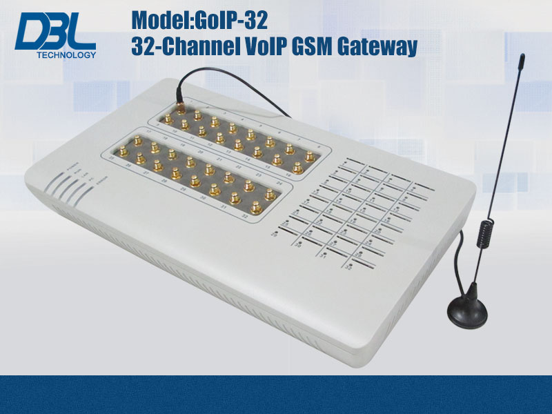32 channel VoIP GSM Gateway GoIP-32 USSD via SMS Server