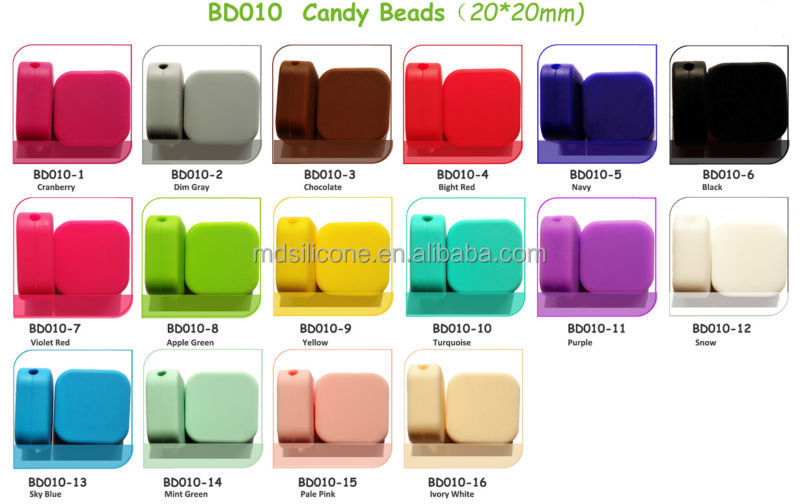 Silicone Beads Wholesale China Manufacturer Silicone Teething Beads for Jewelry