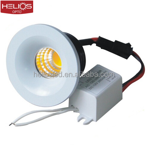 35mm cut out round recessed 3w mini 12v led <strong>downlight</strong>