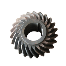 Customized differential straight conical bevel gear made by HeYue ltd