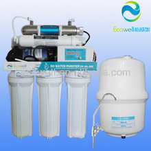 Interno uv sterilizer water purifier con tds display