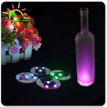 2016 Wedding Decoration Custom UV Black Light Up Led Bottle Sticker