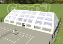 Giant air sealed Inflatable Tennis court tent, cheap inflatable tent price, tent inflatable