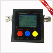Anysecu SW-102 125-525Mhz Digital VHF/UHF Antenna Power & SWR Meter+connector