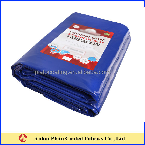heavy duty pvc coated polyester fabric tarpaulin