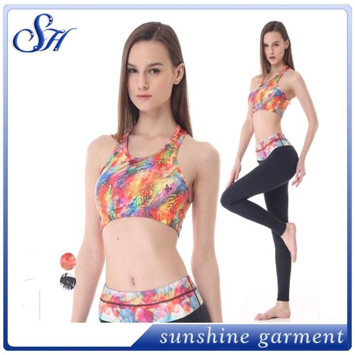 Women Wholesale Yoga Wear Sport Clothing Sets Yoga Pants ...