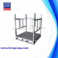 Galvanized foldable Steel Cage Pallet/Stackable metal Container Pallet