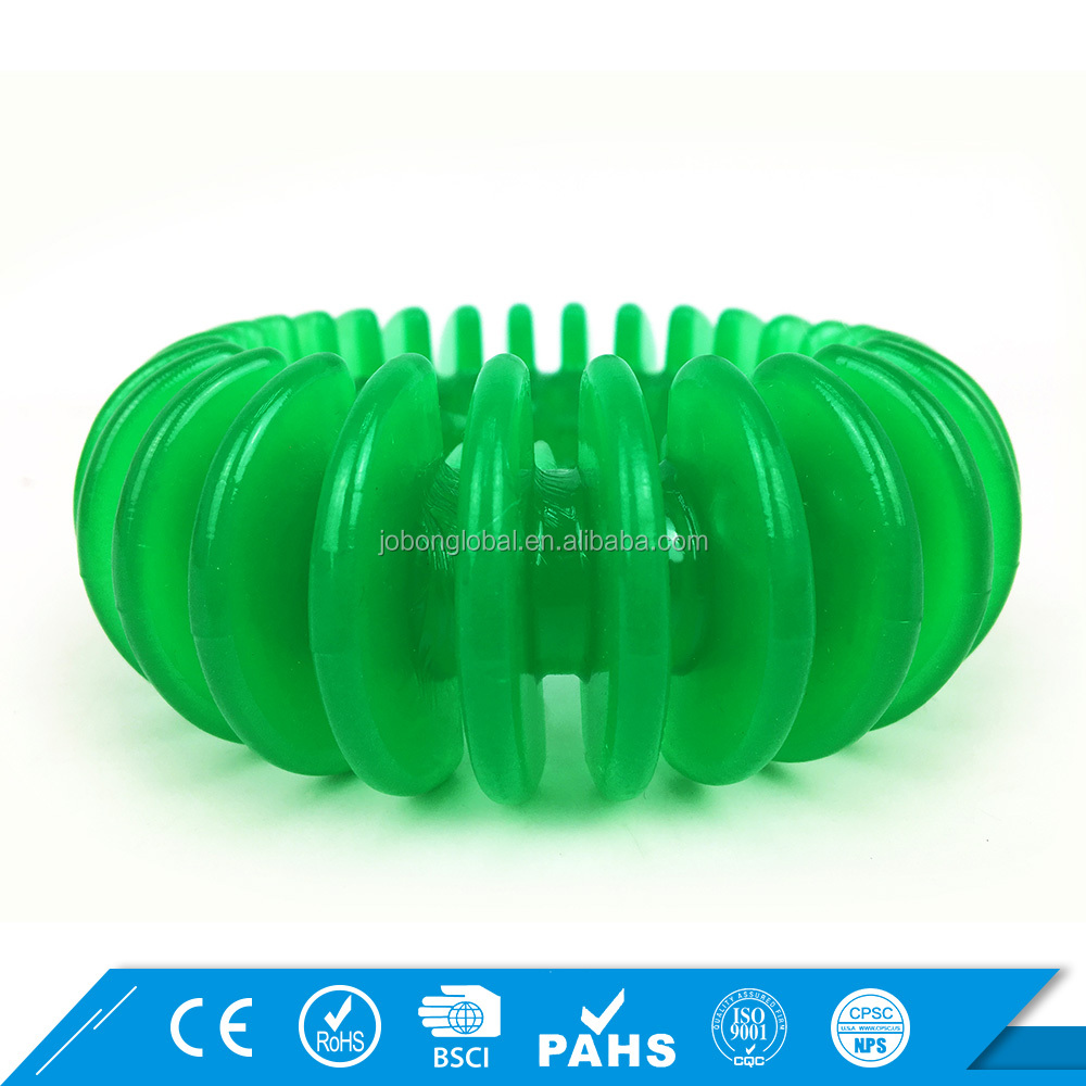 Newest OEM Rubber Ring Chew Interactive Pet Indestructible Dog Toy