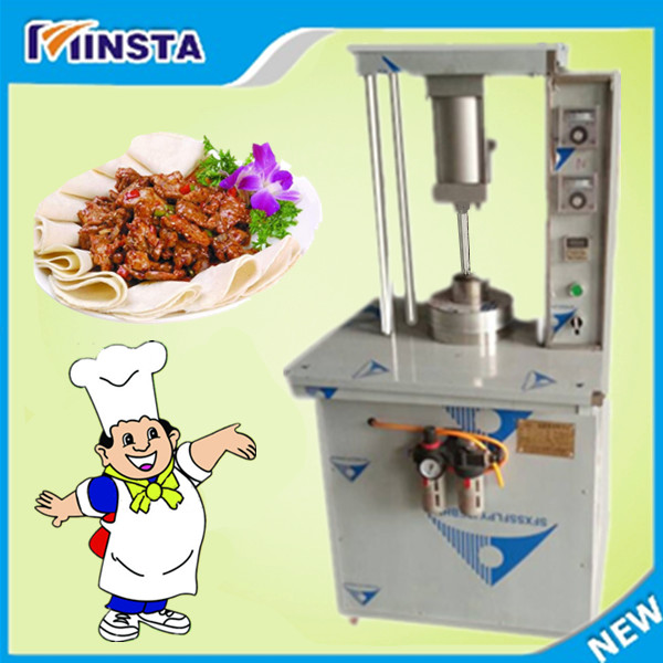 2016 Halal food tortilla wraps making machine/chapati maker tortilla machine