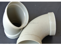 Best selling 90 180 130 degree plastic pp elbow for pipe fitting made in China