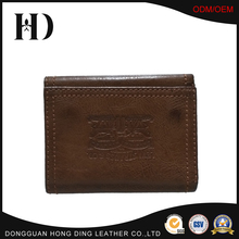 Men's quality leather Wallet with multiple card slots and I.D. window