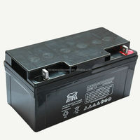 High quality Deep cycle solar baterias auto 12V65AH storage batteries for solar power