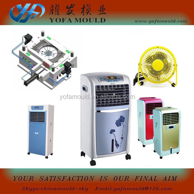 Plastic air cooler cleaner injection mould