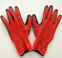 work gloves with grip latex dipped gloves cheap work safety gloves