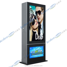 with Light Box Easy maintenance led video for Airport villa with 3G/Wifi/USB