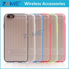 Bulk Buy From China Mobile Acceserories For Iphone6 4.7 Inch Case Sticker Silicone Smart Phone Case Stand Up Card Holder