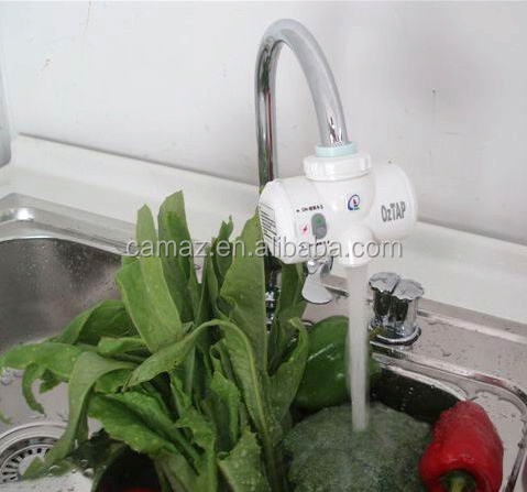 Ozone water tap O3 water purifier filter vegetable and fruit kitchen wall sticker