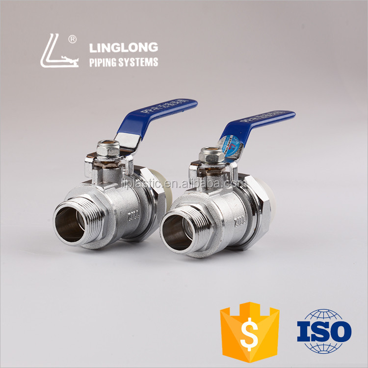 China product brass ball valve for water and gas