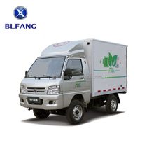 Foton refrigerator cargo box trucks electric mini truck